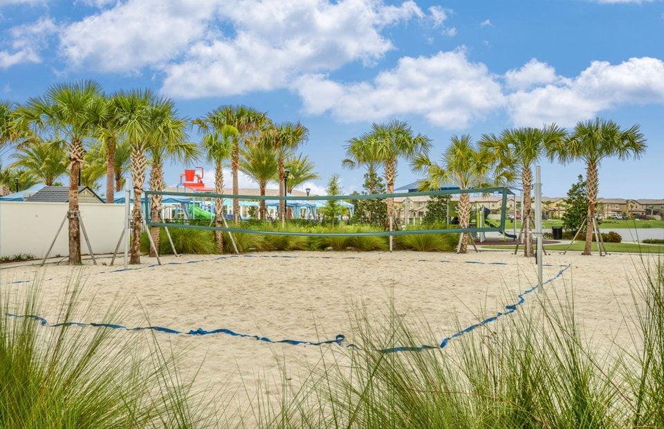 Orlando Florida Volleyball court