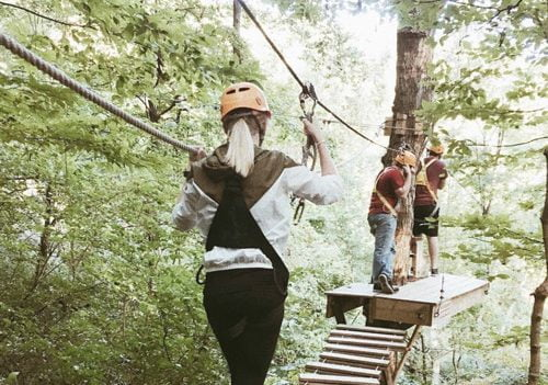 Adventure Works on your smoky mountains trip.