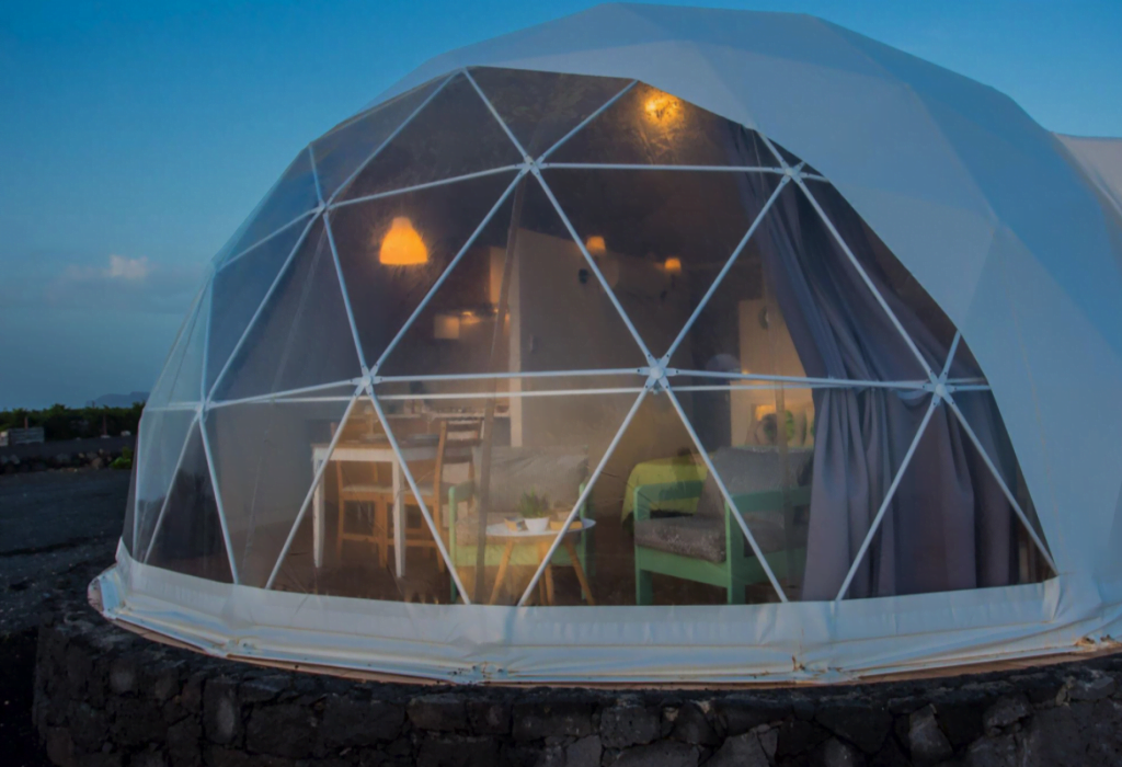 Glamping Domes, Smoky Mountain National Park
