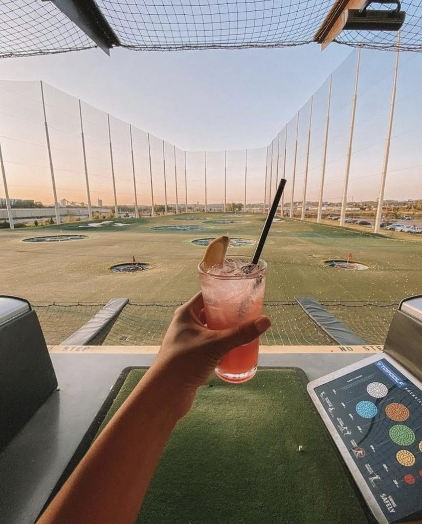 Top Golf Nashville, unique things to do in Nashville for your birthday, Nashville birthday